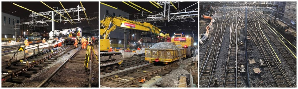 Work taking place at London King's Cross over Christmas 2020